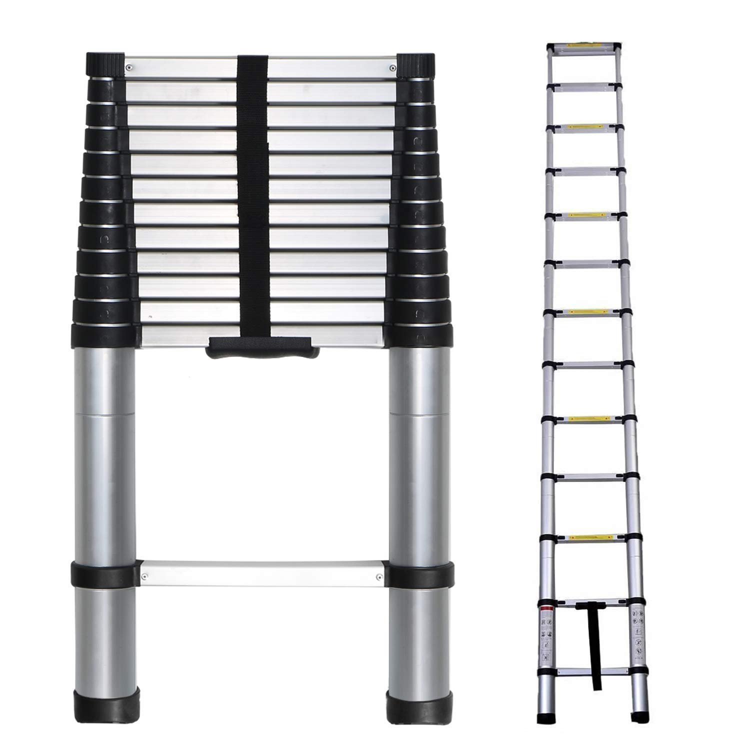 20 ft aluminum extension ladder long white extension cord