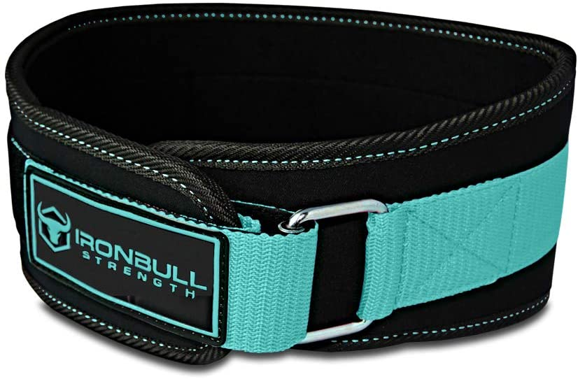 Iron Bull Strength Women Weight Lifting Belt – High Performance Neoprene Back Support – Light Weight Heavy Duty Core Support for Weightlifting and Fitness