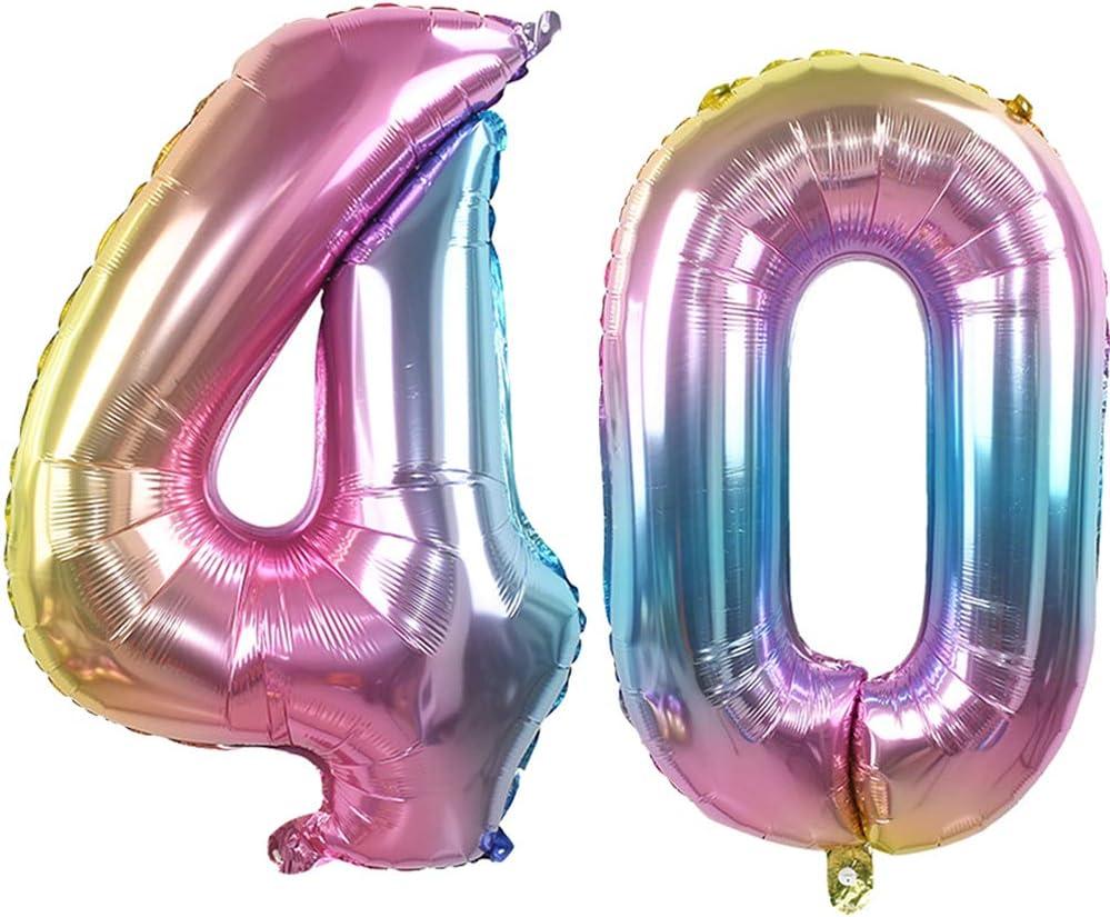 16th Anniversaire Hélium Ballons 40 in pour su environ 101.60 cm Ouinne numéro 16 ballons
