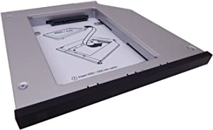 Newmodeus, 2nd HDD / SSD Caddy Compatible with T420,T430,T510,T520,T530, W510, W520, W530 for (Lenovo Thinkpad)