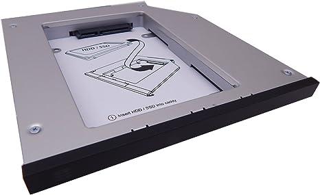 OptiBayHD – Set de montaje del segundo disco duro o la SSD en los ...