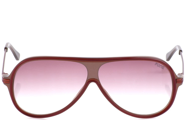 56ac383f7d8591 FUNK Sonnenbrille Grand Duke (Rahmen: Rotbraun | Gläser: Braun Verlauf  leicht getönt): Amazon.de: Bekleidung