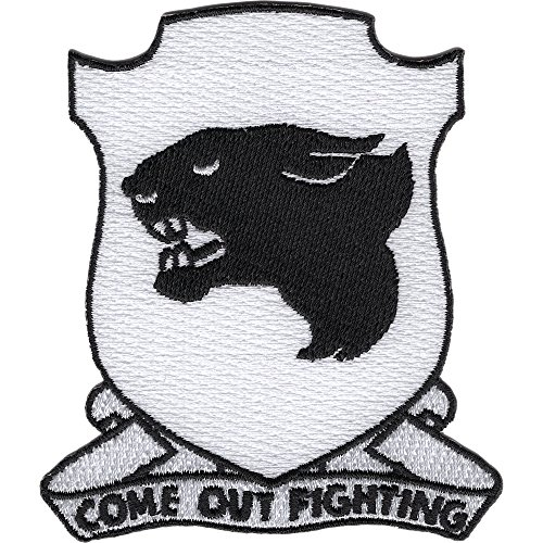 761st Tank Battalion Patch African American Unit ()