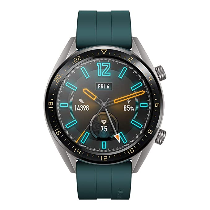 Huawei Watch GT Active Verde – Smartwatch con Pantalla táctil AMOLED de 46 mm + Huawei Watch GT Elegant Blanco (Smartwatch con Pantalla táctil AMOLED ...