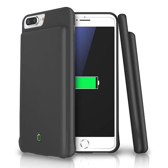 fcba8e80650 iPhone 7 Plus/6S Plus/6 Plus carcasa de batería, LoHi capacidad ultra