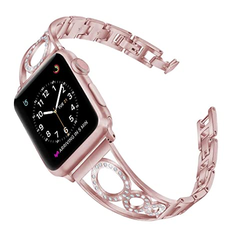 Amazon.com: Pulsera de metal para iWatch 3, correa de ...