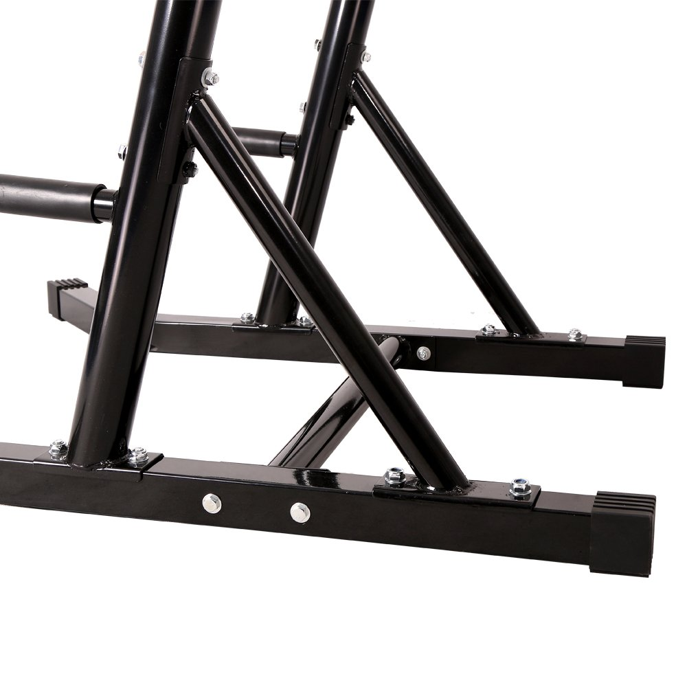 550 lbs Power Tower VKR Pull up Bar Sturdy Chin Up Station Dip Stand Fitness Equipment with Multi Exercise Functions (Black) by CRYSTAL FIT (Image #8)