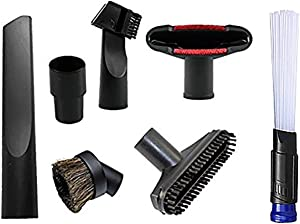 ANBOO Replacement 32mm (1 1/4 inch) Vacuum Cleaner Accessories Brush Kit for Standard Hose Set of 7