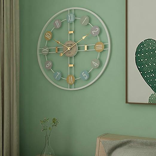 Aero Snail Creative - Reloj de Pared Redondo y Sencillo ...
