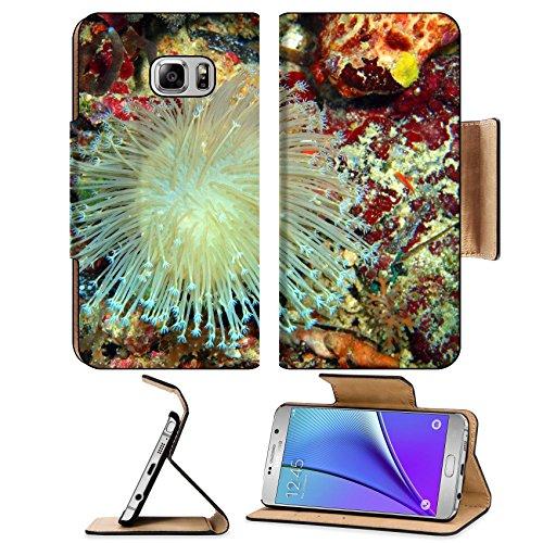 MSD Premium Samsung Galaxy Note 5 Flip Pu Leather Wallet Case Note5 IMAGE 24731797 Soft coral island Maktan Philippine