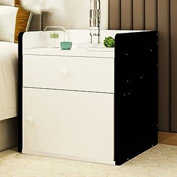Bon PM Nightstands Bedside Cabinets Lockers With Drawers Bedroom Lockers  Bedside Cabinets (Color : B