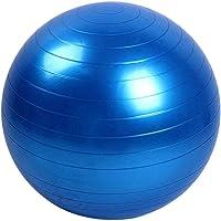 Bola para Pilates exercícios 65cm suporta até 150kg GT351-BL Azul - Lorben