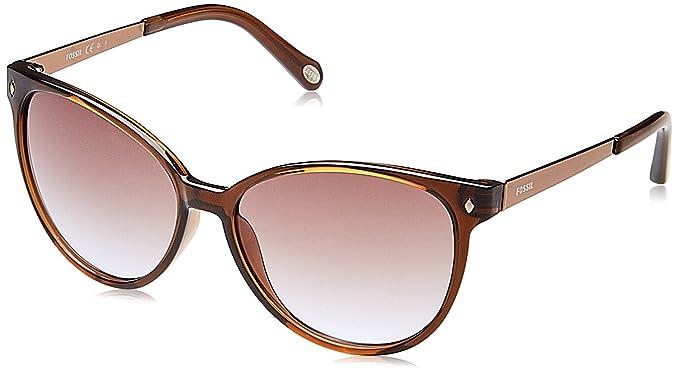 ad4f708a07e1b Fossil UV Protected Oval Unisex Sunglasses (FOS 3007 S IT3