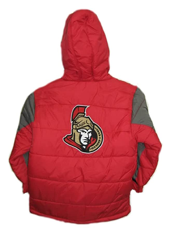 eed89b3ce464 Amazon.com  Ottawa Senators NHL Reebok Kids Red Bubble Jacket  Clothing