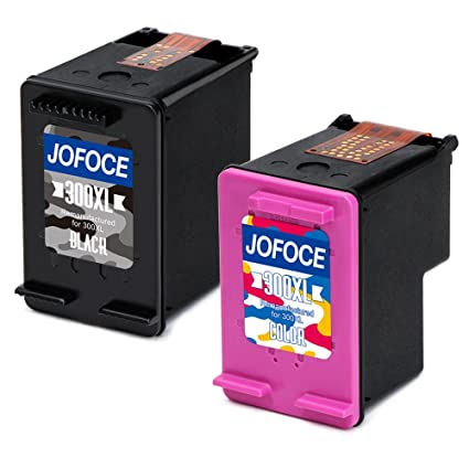 Jofoce Remanufacturado HP 300 300XL Cartuchos de tinta(1 ...