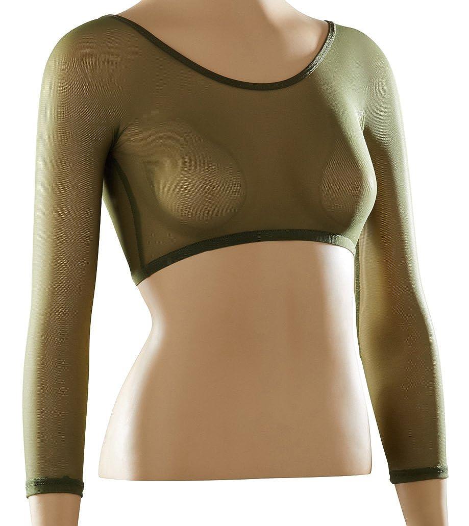Sleevey Wonders Women's Basic 3/4 Length Slip-on Mesh Sleeves