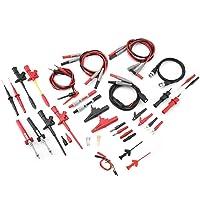 Multimeter Probe Test Hook Kit,Multimeter Probe Test Hook Kit,18 in 1 Pluggable Replaceable Multimeter Probe Test Lead…