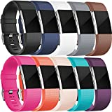 Wepro Replacement Bands for Fitbit Charge 2, 10-Pack Fitbit...