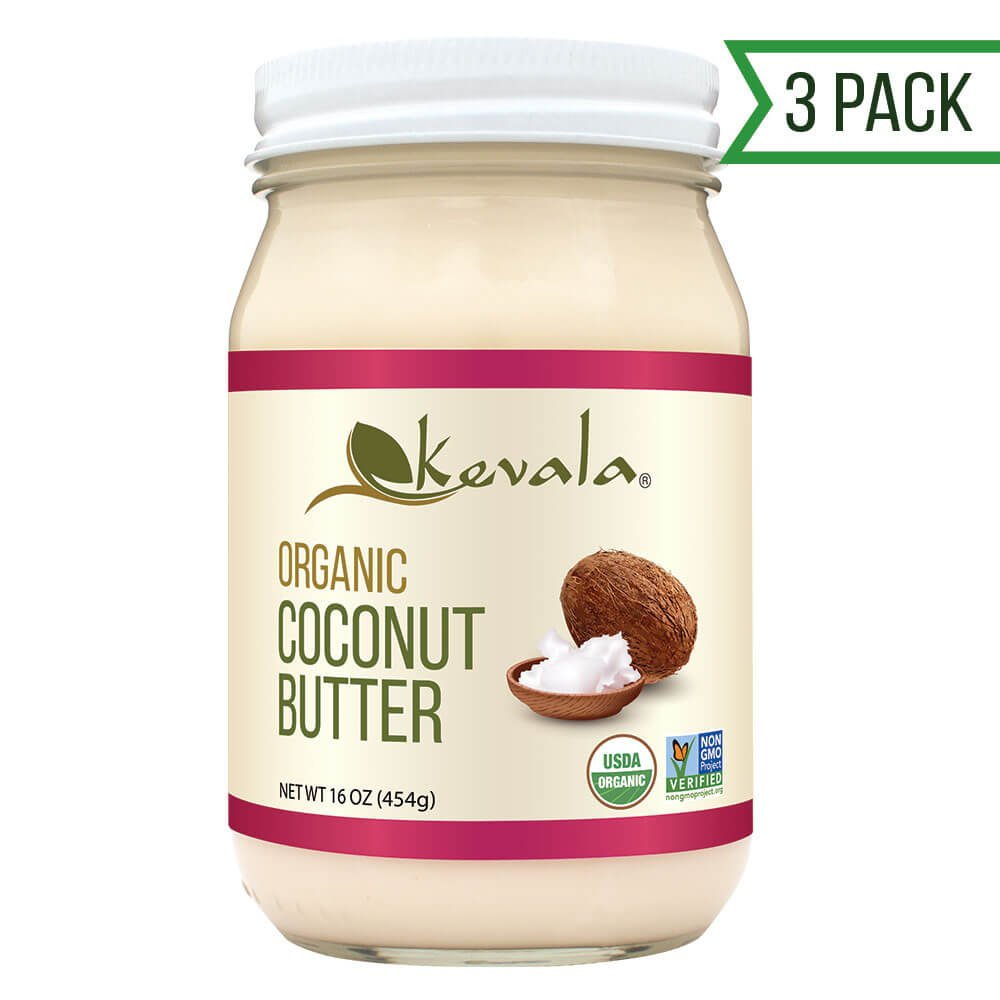 Kevala Organic Coconut Butter, 3 Count