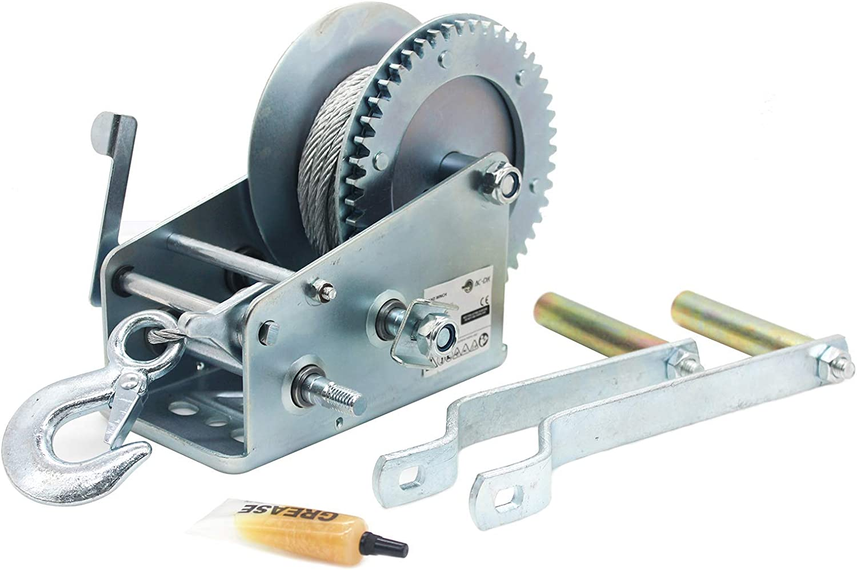 AC-DK THW3500C Hand-Crank Winch