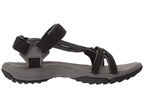 38290318b75d5 Image Unavailable. Image not available for. Color  Teva Terra Fi Lite  Leather Sandal - Women s Hiking Black