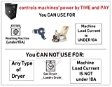 Coin Operated Timer 2 in 1 Time Control Box