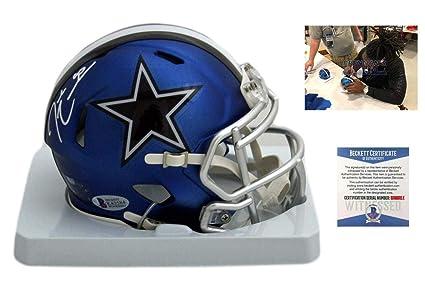 e21feb6f0 Signed Demarcus Lawrence Mini Helmet - Blaze Beckett - Beckett  Authentication - Autographed NFL Mini Helmets