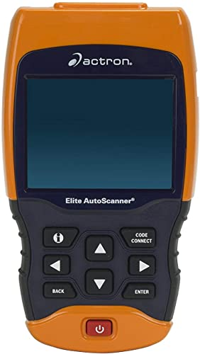 Actron CP9690 Elite GM scan tool has all of the everyday functions for diagnosing and resetting fault codes.