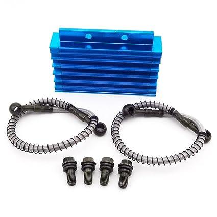 xljoy CNC azul Radiador de refrigeración de aceite Temperatura de ...