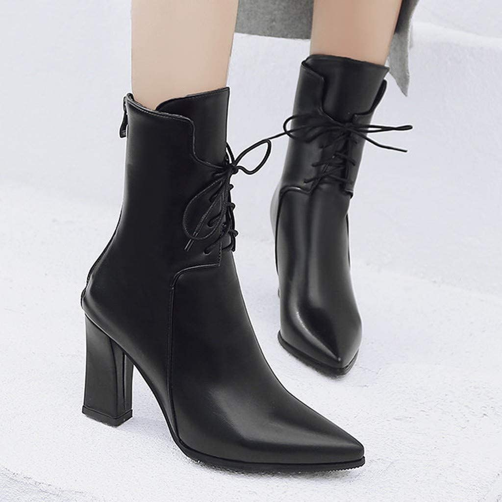 BIKETAFUWY Women Vintage Over The Knee Boots Increased Wedges Shoes Ladies Long High Tube Knight Boots