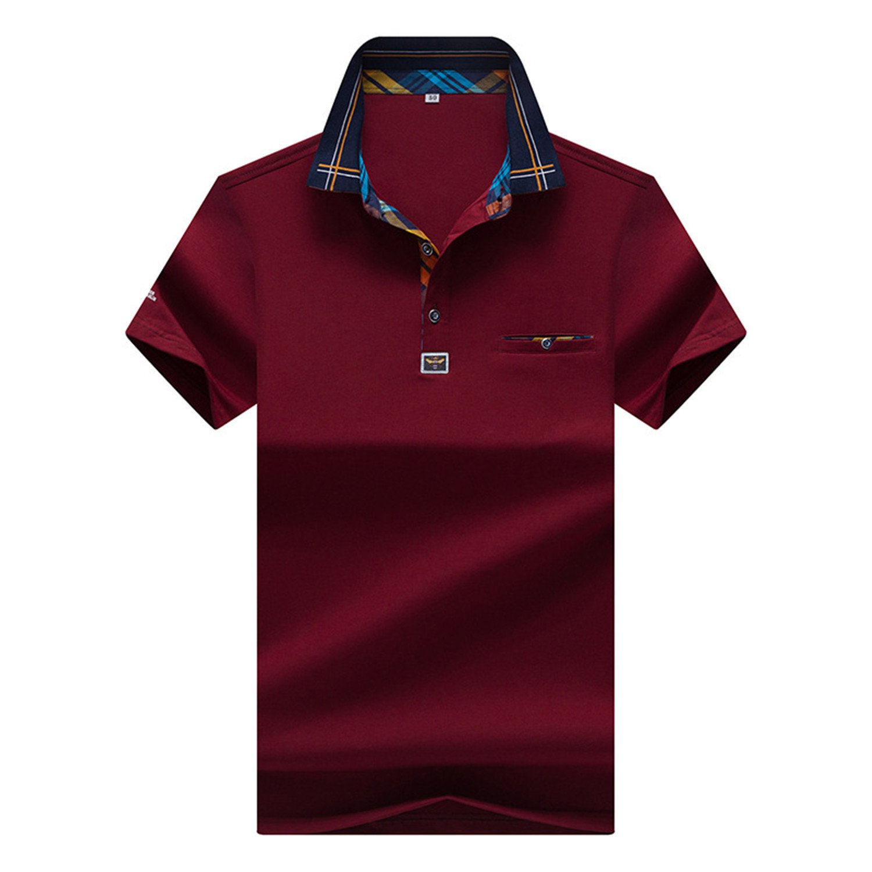 Amazon.com: Carolyn Jones New MenS Brand Polo Shirt Cotton Sleeve Shirt Fashion Embroidery Polo Homme Camisetas: Clothing