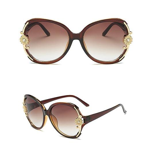 Amazon.com: Round Oversized Sunglasses Women Fashion Sun ...
