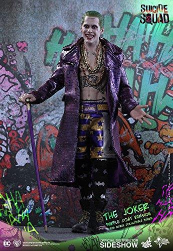 "Hot Toys DC Comics Suicide Squad The Joker (Purple Coat Version) 1/6 Scale 12"" Figure"