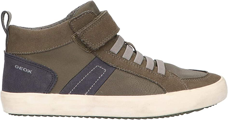 Geox J Alonisso Boy G Hi-Top Trainers