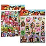 Disney High School Musical Sticker - 2 Sheet stickers set