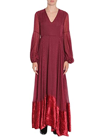 ced0e6c738 Image Unavailable. Image not available for. Color  AINEA Women s F7d12a4  Burgundy Polyamide Dress