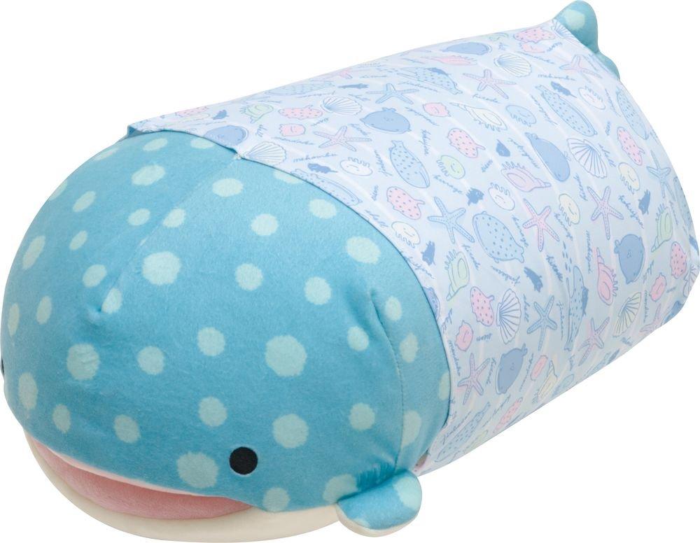 Jinbesan Super Mochi Mochi Hugging Pillow by San-X (Image #1)