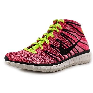 new product b98d0 4b72a Nike Women's Free Flyknit Chukka Running Shoe