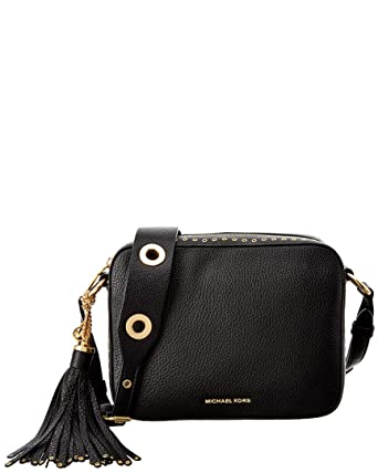 c53127791bb6 Image Unavailable. Image not available for. Color: Michael kors Brooklyn  Large Camera Bag Leather