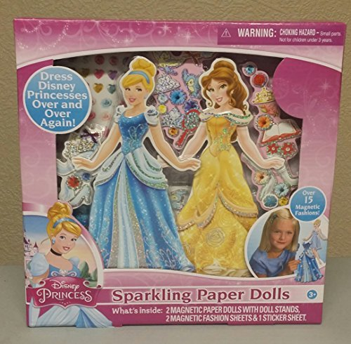 Disney Princess Activity Gift Set (Including Paper Dolls, Paint your own Statue, Coloring Backpack)