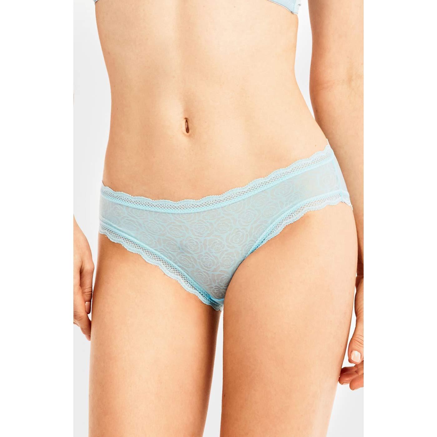 Uni Style Apparel Womens Lace Nylon Bikini Panties 12 Pack