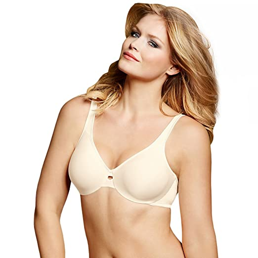 6c29ebc3f5 Image Unavailable. Image not available for. Color  Lilyette Womens Plunge  Into Comfort Keyhole Minimizer Bra ...