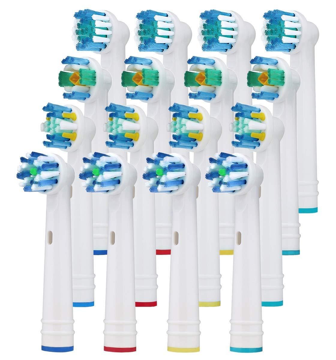 16 Cabezales de recambio compatibles con cepillo de dientes ...