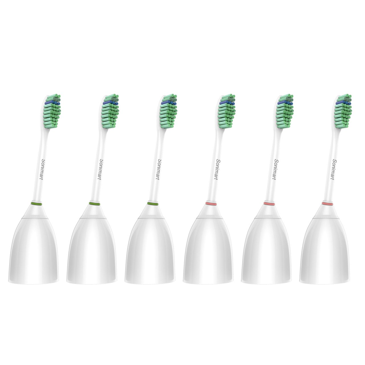 Amazon philips sonicare hx561208 essence rechargeable sonimart standard replacement toothbrush heads for philips sonicare e series hx7022 6 pack fandeluxe Choice Image