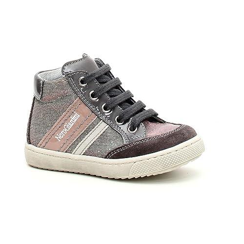 Nero Giardini Junior Sneaker Primi Passi Bambina CAMOSCIO Tela 320021F 103  (22 e0f50021b75