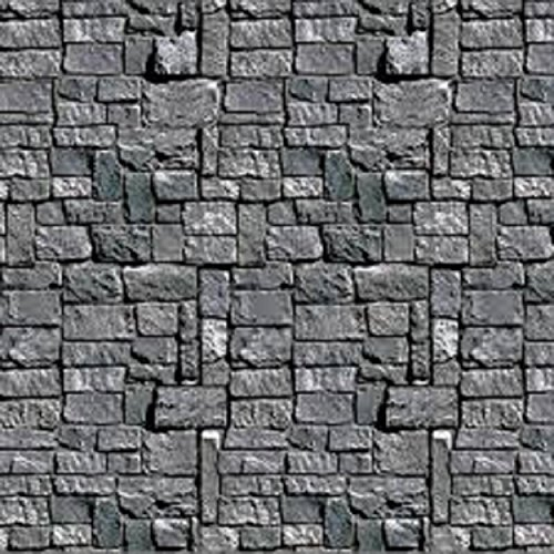 Pack of 6 Stone Wall Backdrop Insta-Theme Halloween Party Wall Decorations 30'