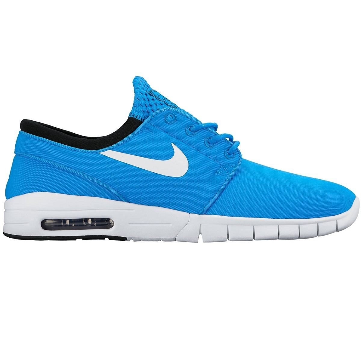 4c9946373df5 Galleon - Nike Men s Stefan Janoski Max Photo Blue White-blackSneakers -  7.5 D(M) US