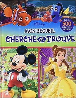 Amazon Fr Mon Recueil Cherche Trouve The Disney