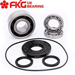 fit for 1990-2004 Polaris Trail Blazer 250 2x4 Models Only FKG 3513519 3514527 Front Left or Right Wheel Bearing and Seal Kit