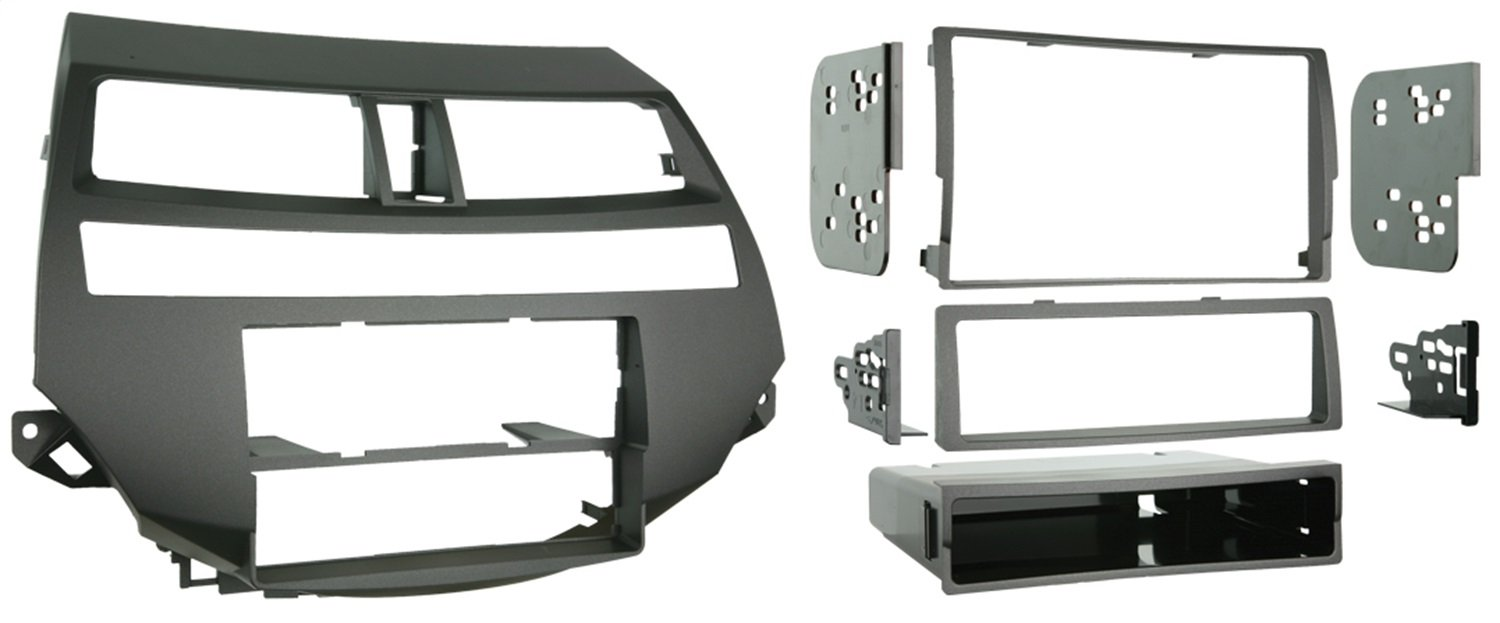 Metra 99-7875 Single/Double DIN Installation Kit for 2008-2009 Honda Accord Vehicles with Dual-Zone Climate Controls